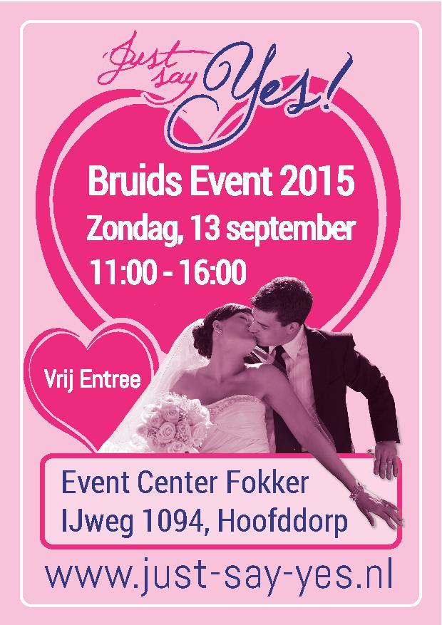 a6 flyer JSY Bruids Event 2015